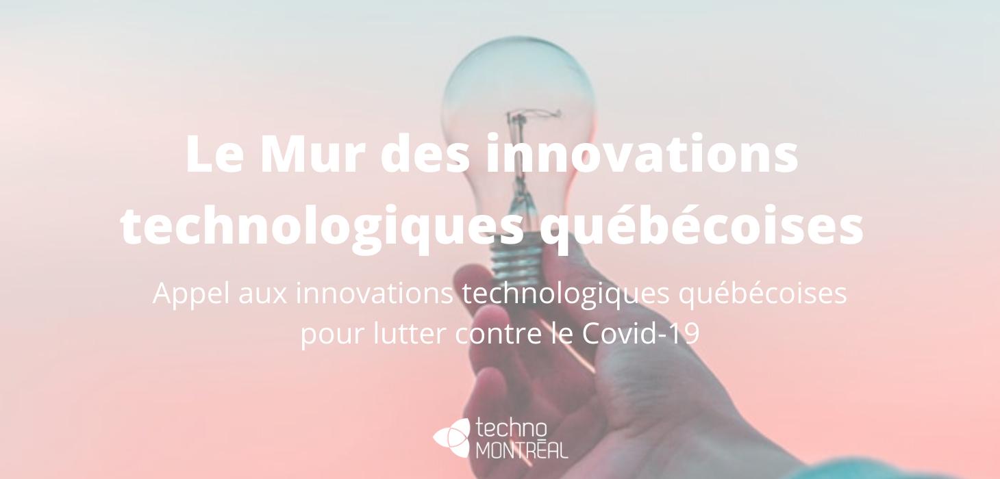 Le Mur des innovations technologiques québécoises