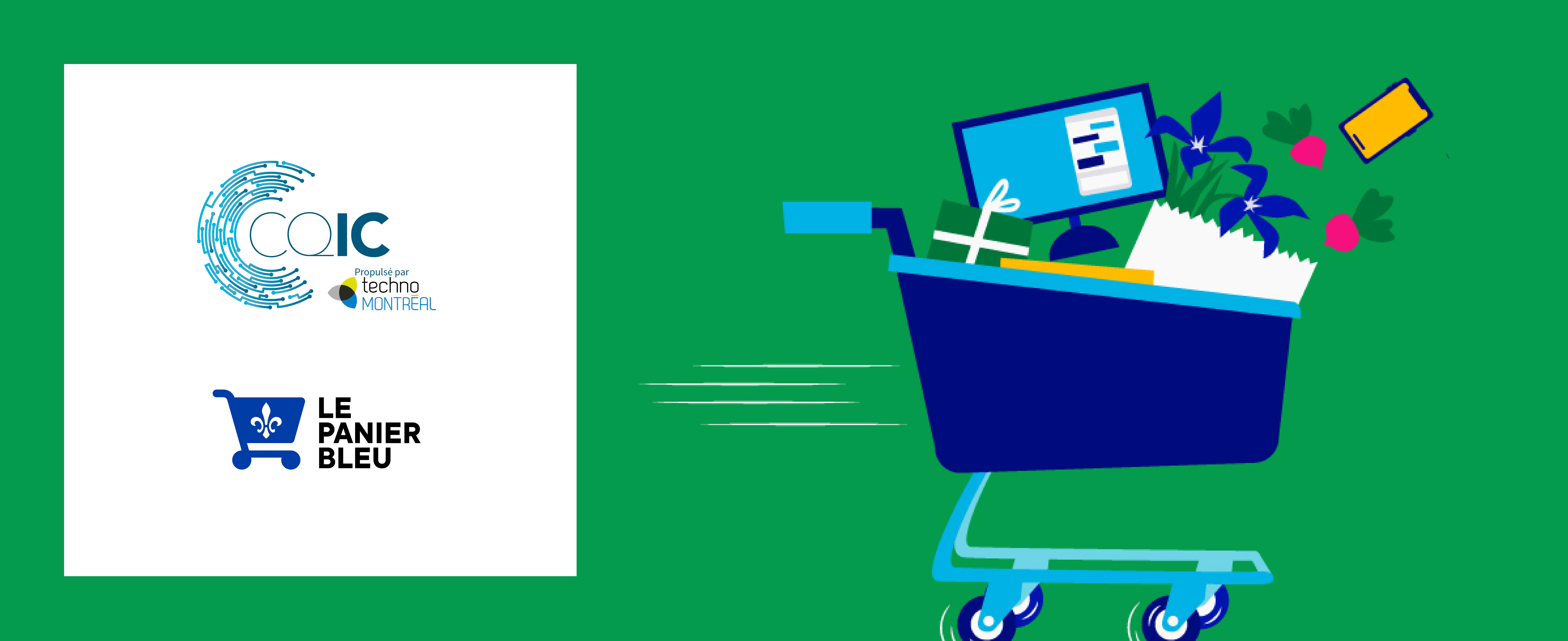 Le Panier Bleu et le CQIC lancent un guide de digitalisation du parcours client!
